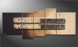 Unser Wandbild 'Enlightened Night' 190x80cm