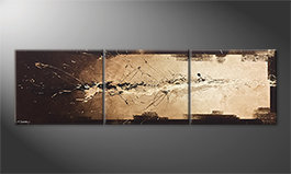 Unser Wandbild 'Flowing Light' 210x60cm