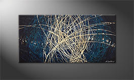 Unser Wandbild 'Power Of Water' 100x50cm