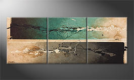 Unser Wandbild 'Splashy Moments' 180x70cm