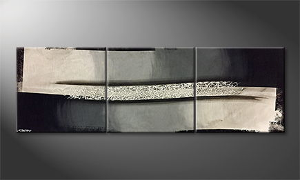 Vom Künstler: 'City Light' 210x70cm