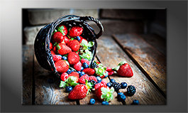 Das Wandbild<br>'Favorite Berries'