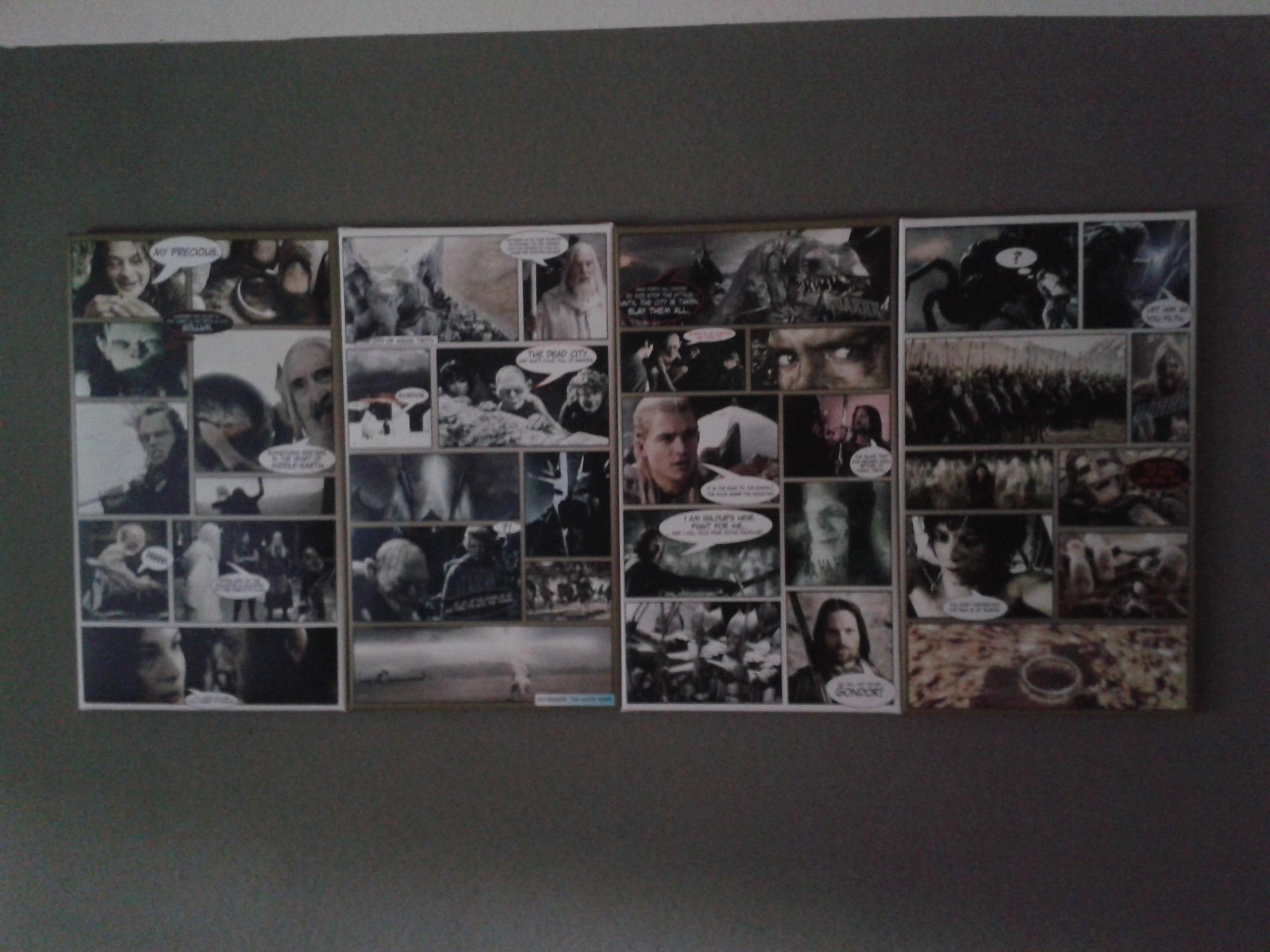 das wandbild herr der ringe iii 160x70cm wandbilder xxl. Black Bedroom Furniture Sets. Home Design Ideas