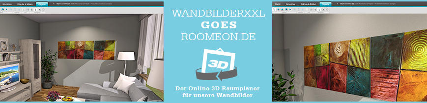 roomeon online 3d raumplaner wandbilder xxl. Black Bedroom Furniture Sets. Home Design Ideas