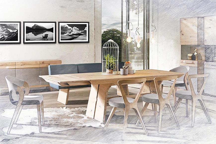 Esszimmerbilder von WandbilderXXL   Viele dekorative Motive