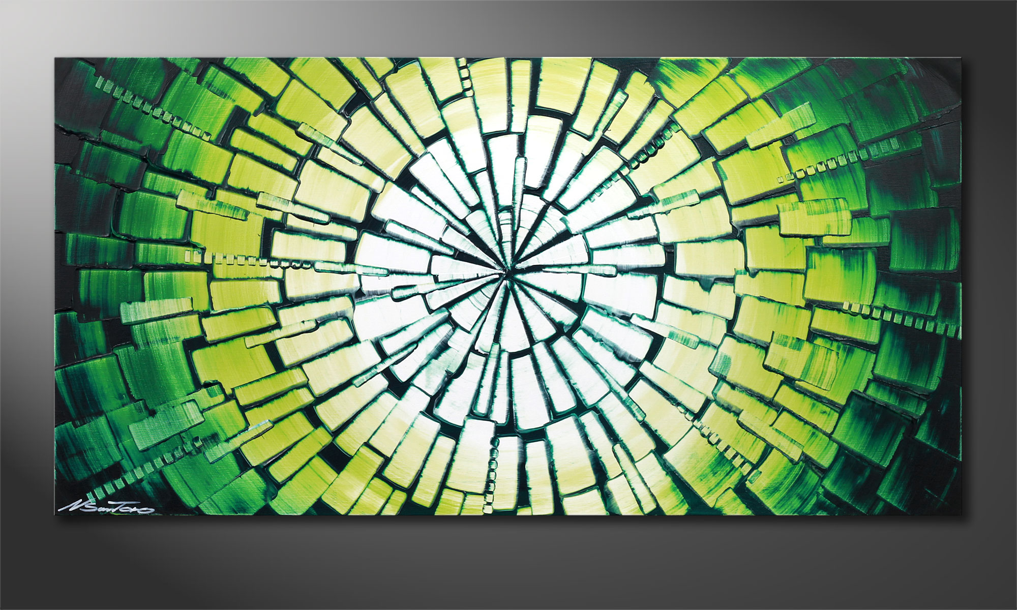 Das keilrahmenbild center of jungle 120x60cm wandbilder xxl - Wandbilder keilrahmenbilder ...