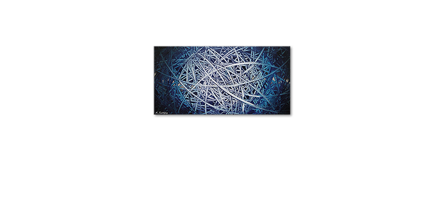 Das Wandbild Energy of Water 120x60cm