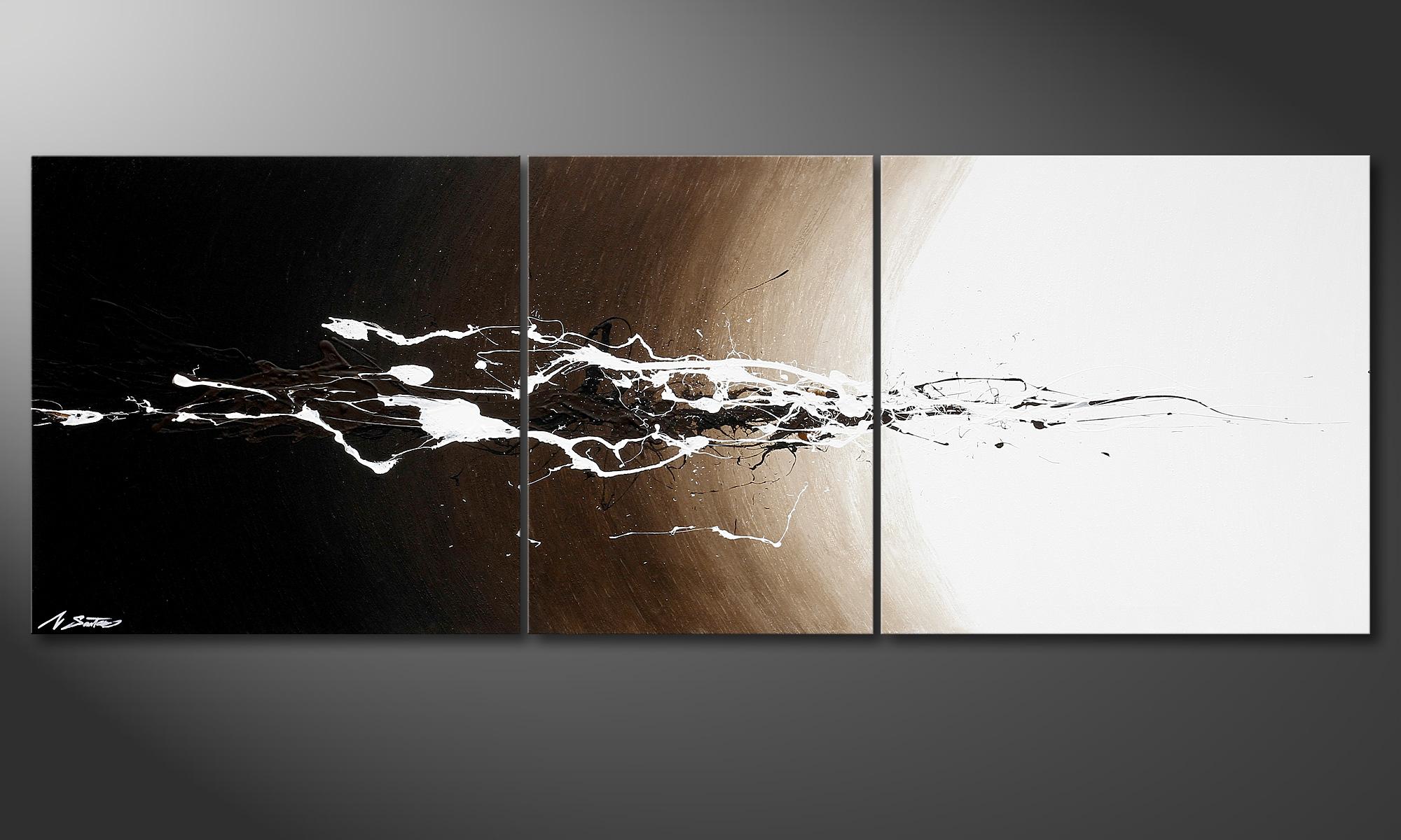 Das Wandbild Erupted Light 190x70cm - Wandbilder XXL