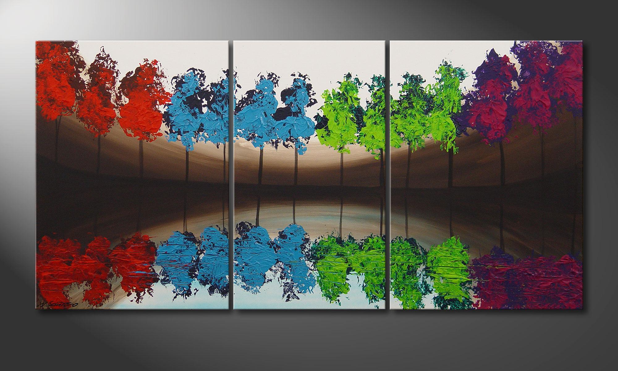 Das Wandbild Miracletrees 140x70cm Wandbilder Xxl