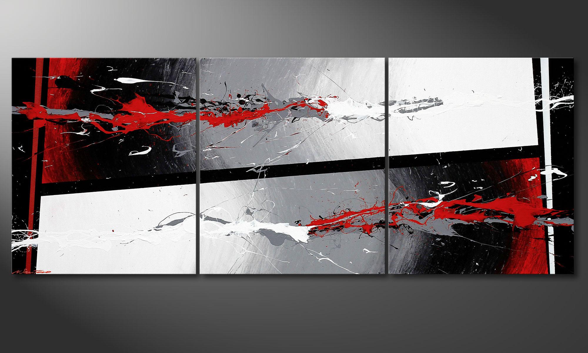 Das wandbild powerful contrast 180x70cm wandbilder xxl for Designer wandbilder