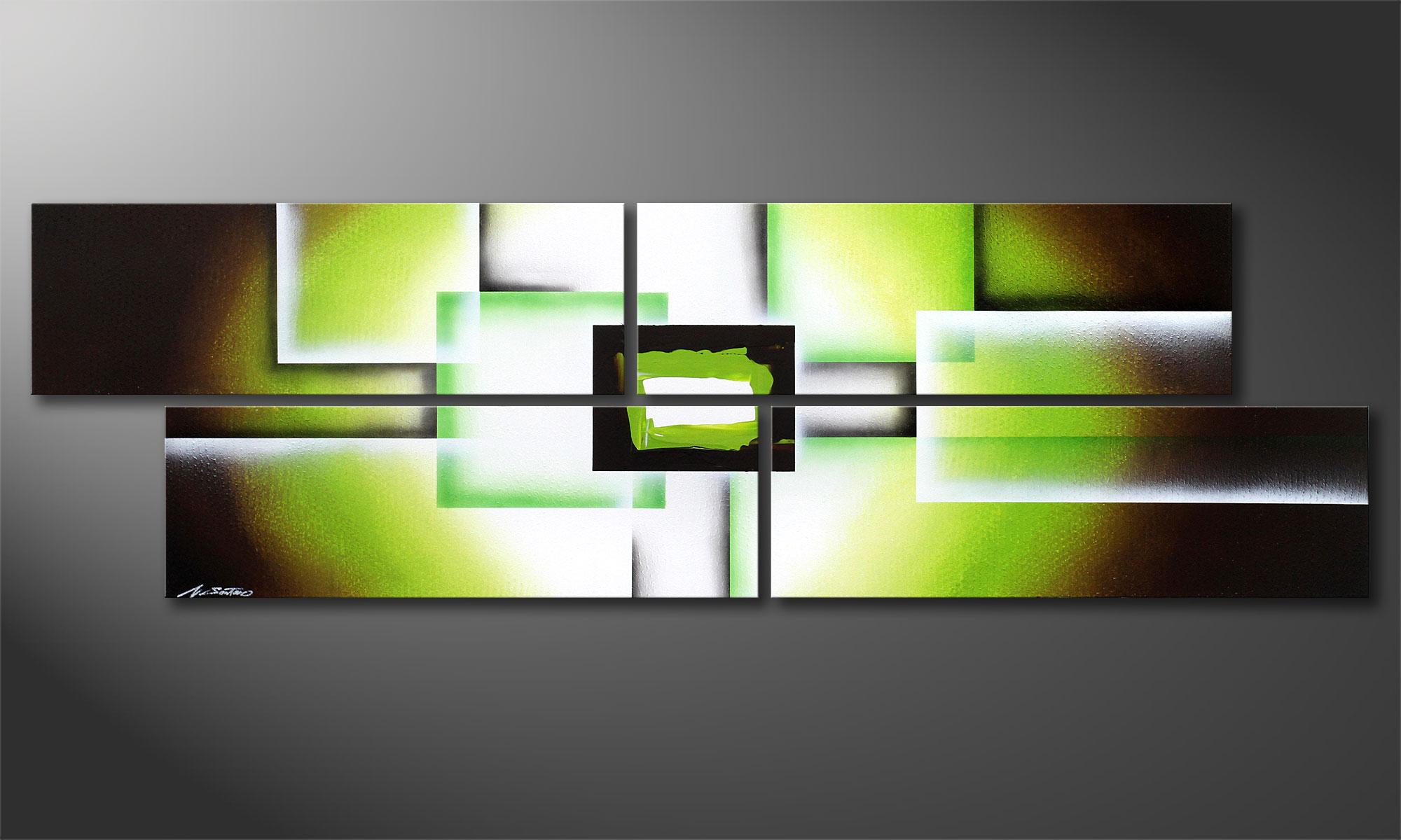 Green Spirit 200x60cm Wandbild - Wandbilder XXL