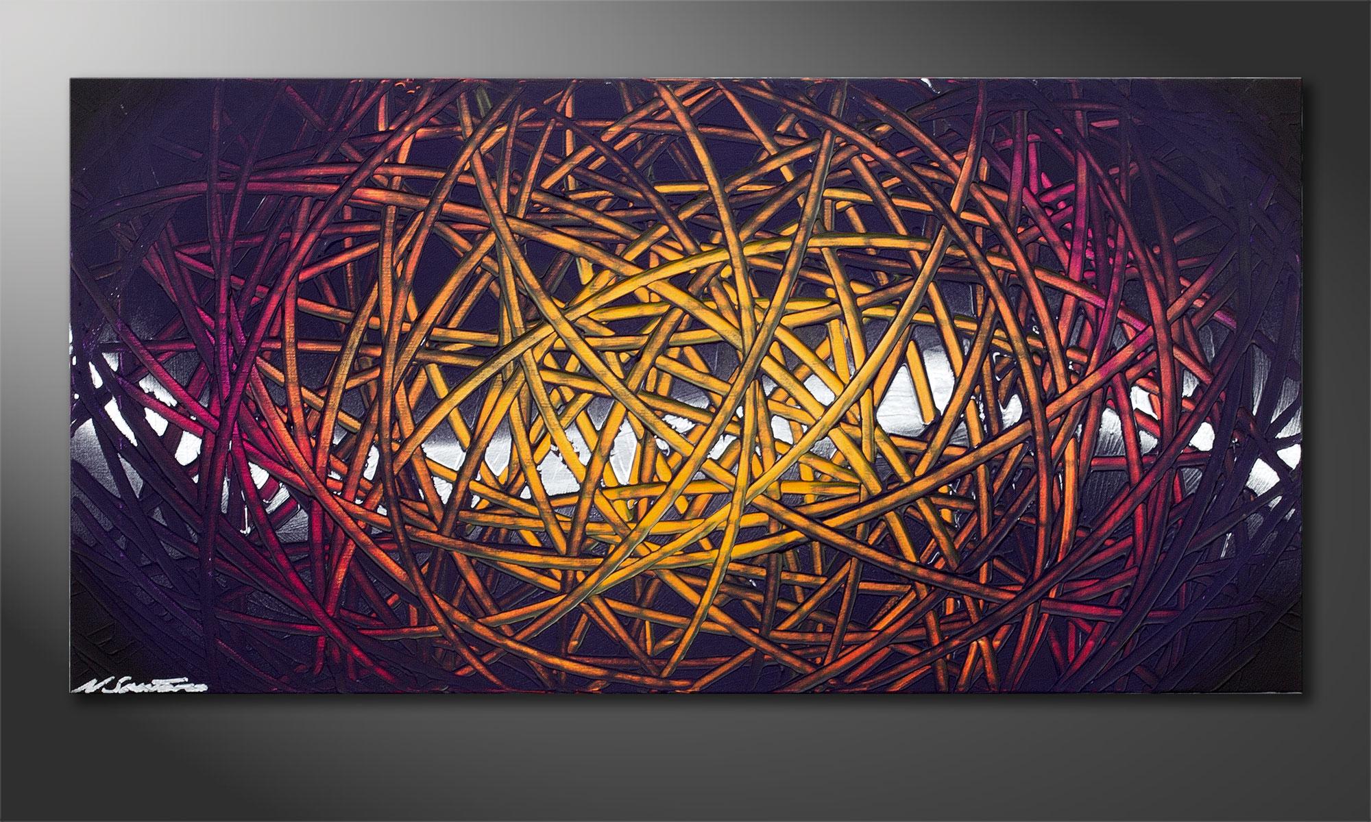 wandbild modern indian moonlight 100x50cm wandbilder xxl. Black Bedroom Furniture Sets. Home Design Ideas