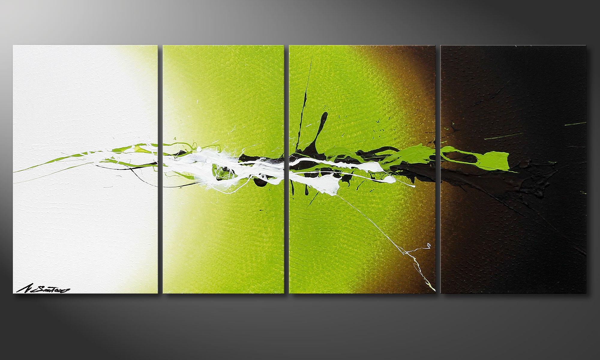 Wanddeko mit dem bild juicy splash 115x50cm wandbilder xxl for Moderne acrylbilder wanddekorationen
