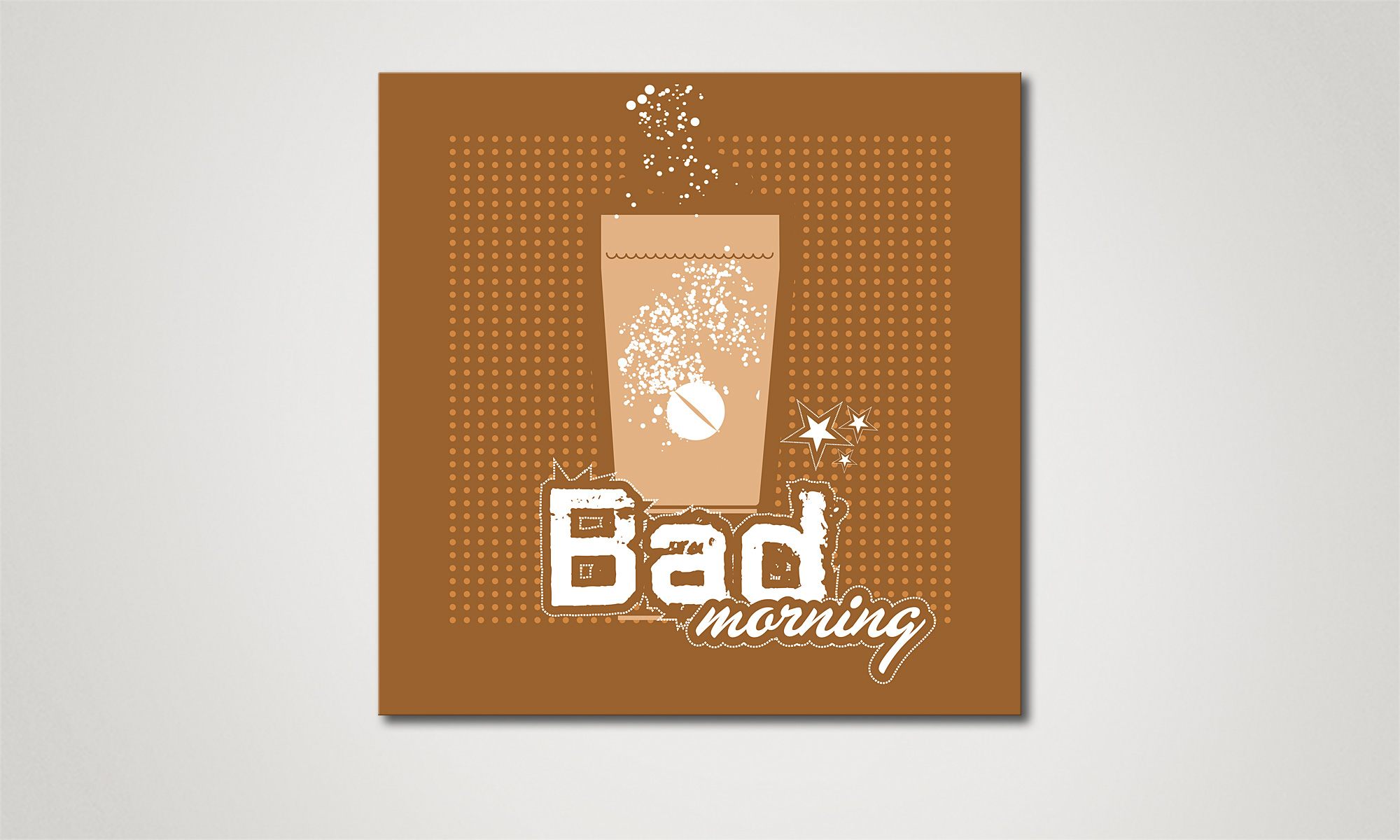 Das leinwandbild bad morning in 60x60cm wandbilder xxl - Wandbilder bad ...