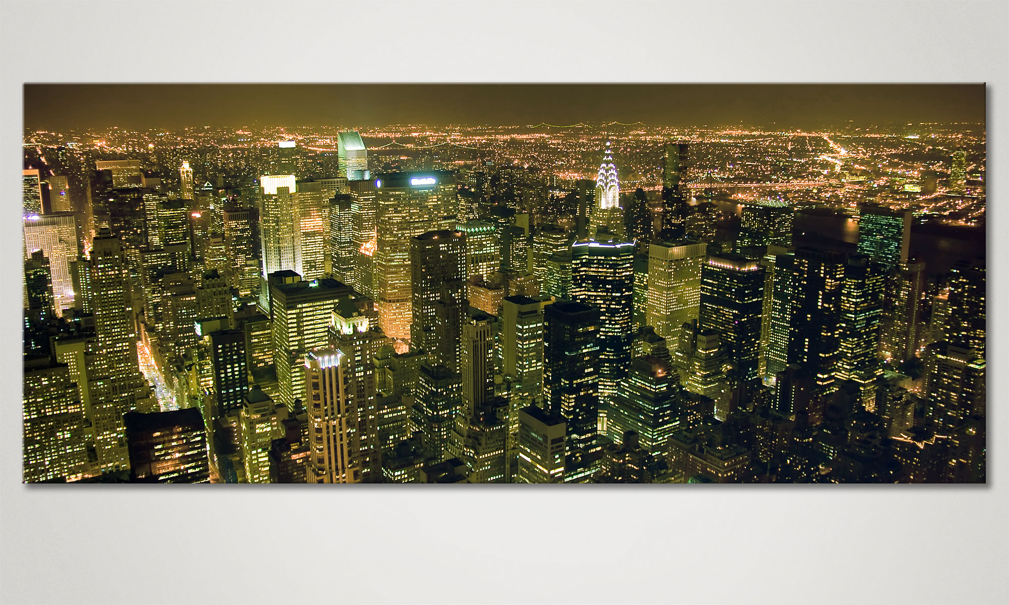 das leinwandbild big apple 120x50cm wandbilder xxl. Black Bedroom Furniture Sets. Home Design Ideas
