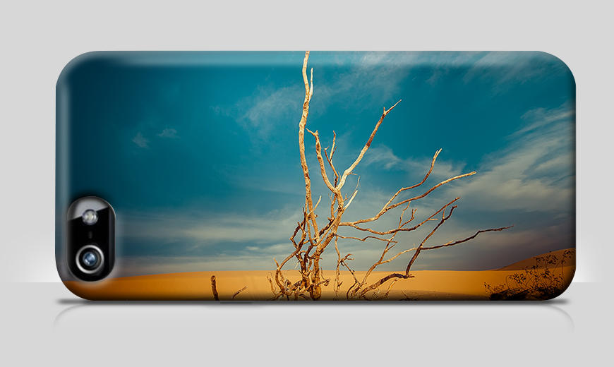 Moderne Handyhülle Desert Landscape