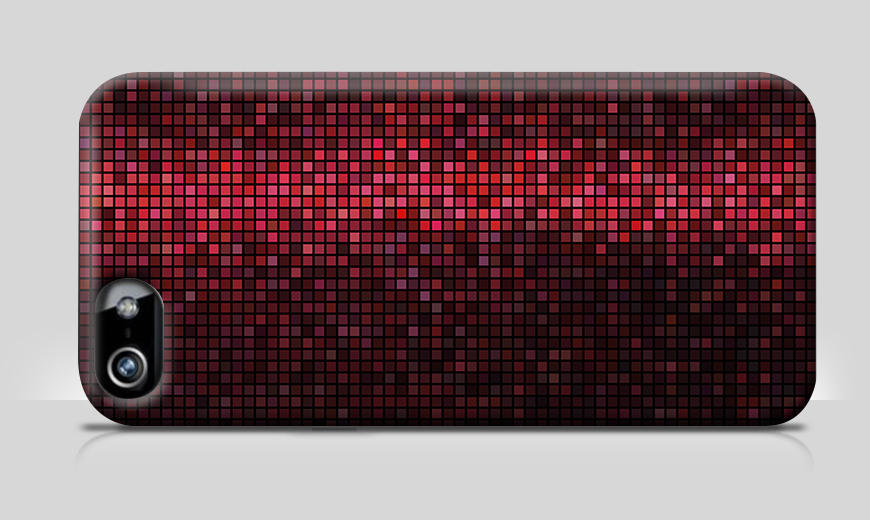 Moderne Handyhülle Red Disco