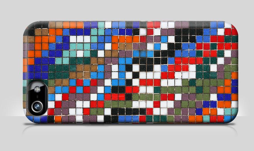 Modernes Phonecase Mosaic Wall