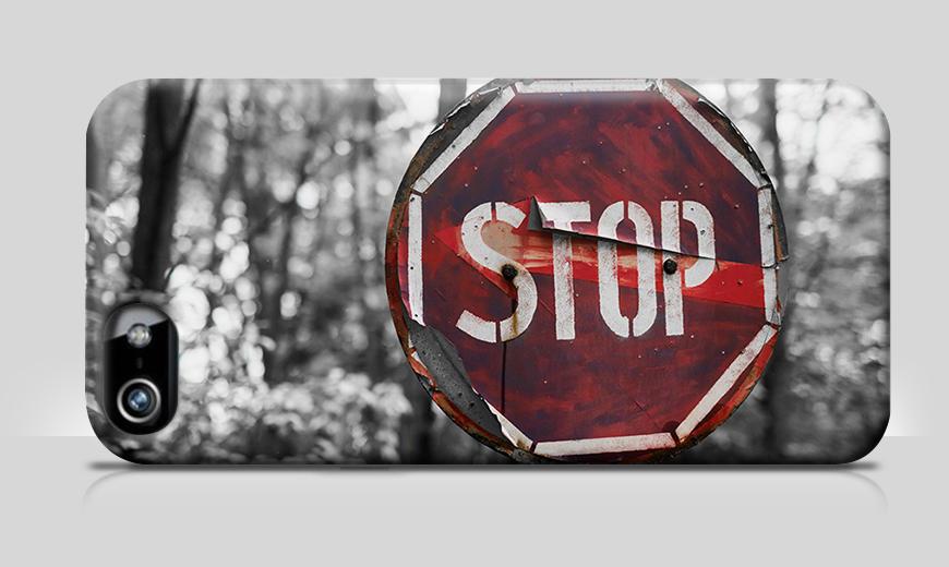 Nur bei uns: Handyhülle Stop