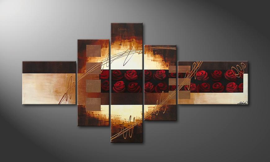 Das Bild Rose Garden II 205x110x2cm