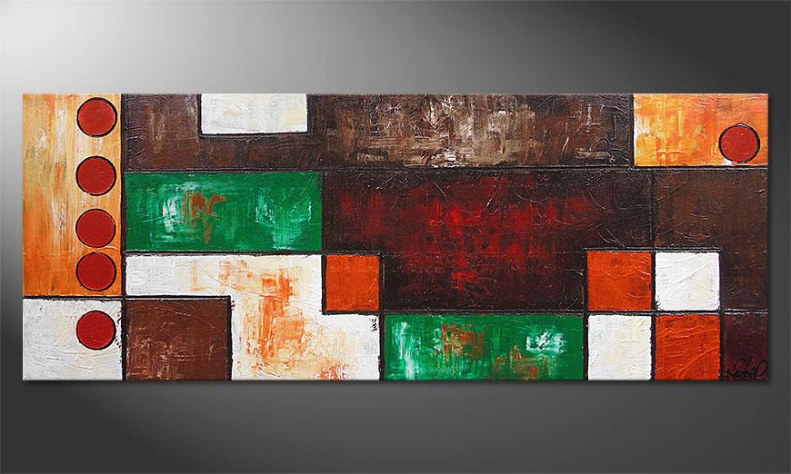 Das Wandbild Stand Out 150x60x2cm