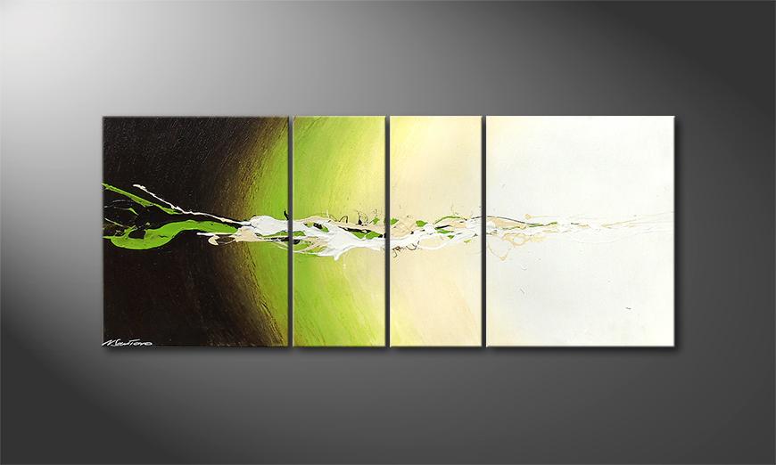 Das moderne Bild Fruity Splash 120x50x2cm