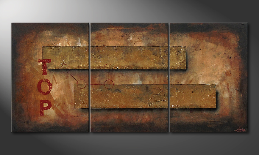 On Top 150x70x2cm Wandbild