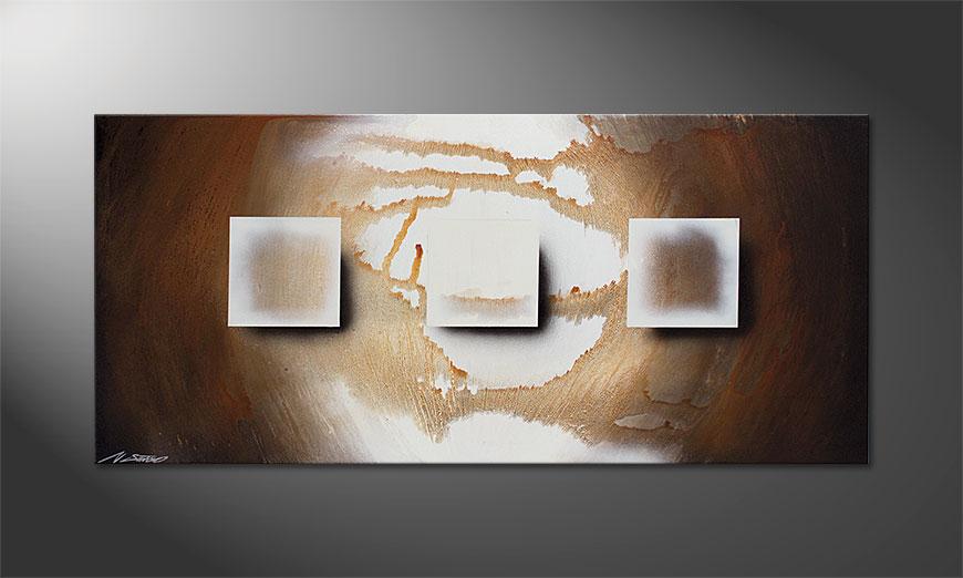 Shinning Cubes 130x60x2cm Bild