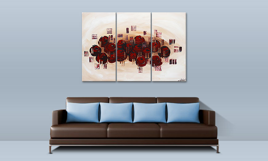 Dream of Roses 120x80cm Wandbild