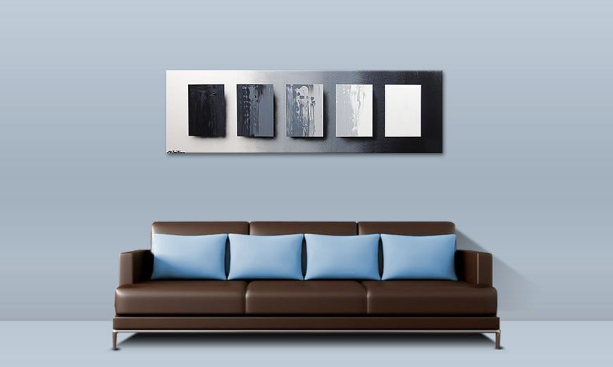 Das Wandbild Reverse the Day in 160x50cm