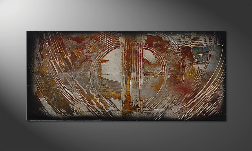 Traces of Past 110x50cm Wandbild