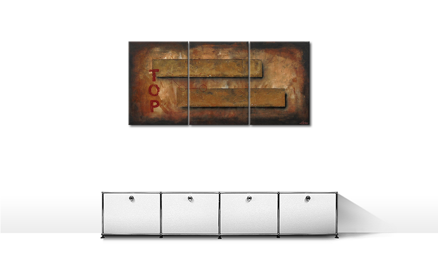 On Top 150x70cm Wandbild
