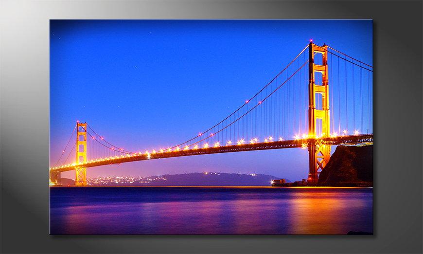 Das Bild Golden Gate