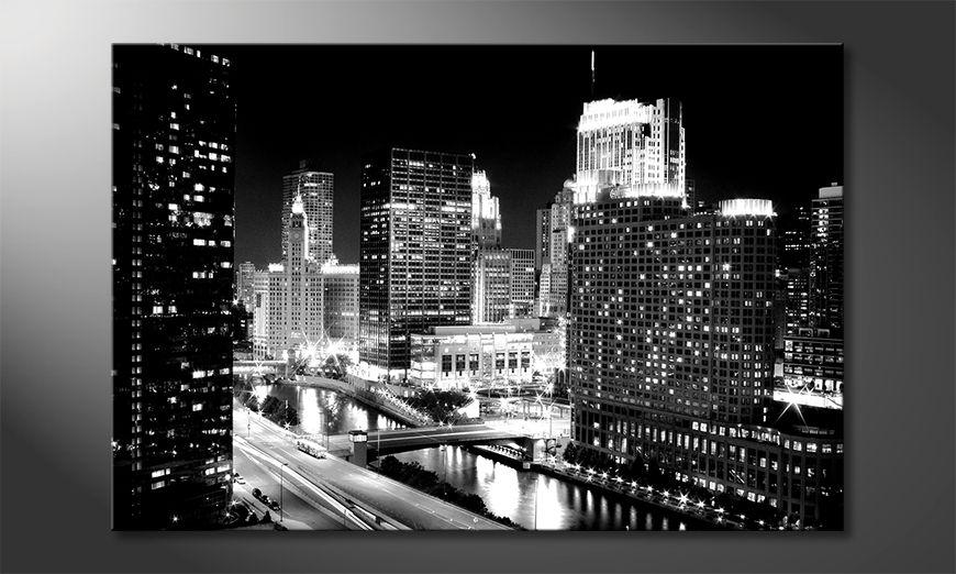 Das Leinwandbild East River