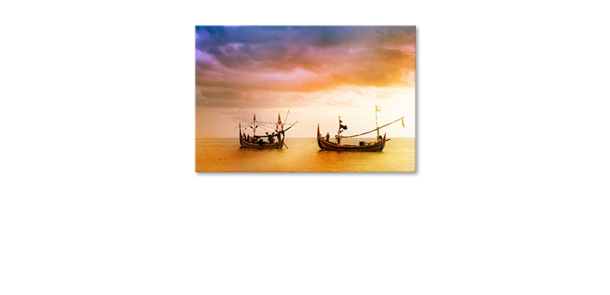 Das-Leinwandbild-Fishing-Boats