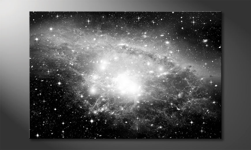 Das Leinwandbild Galaxy