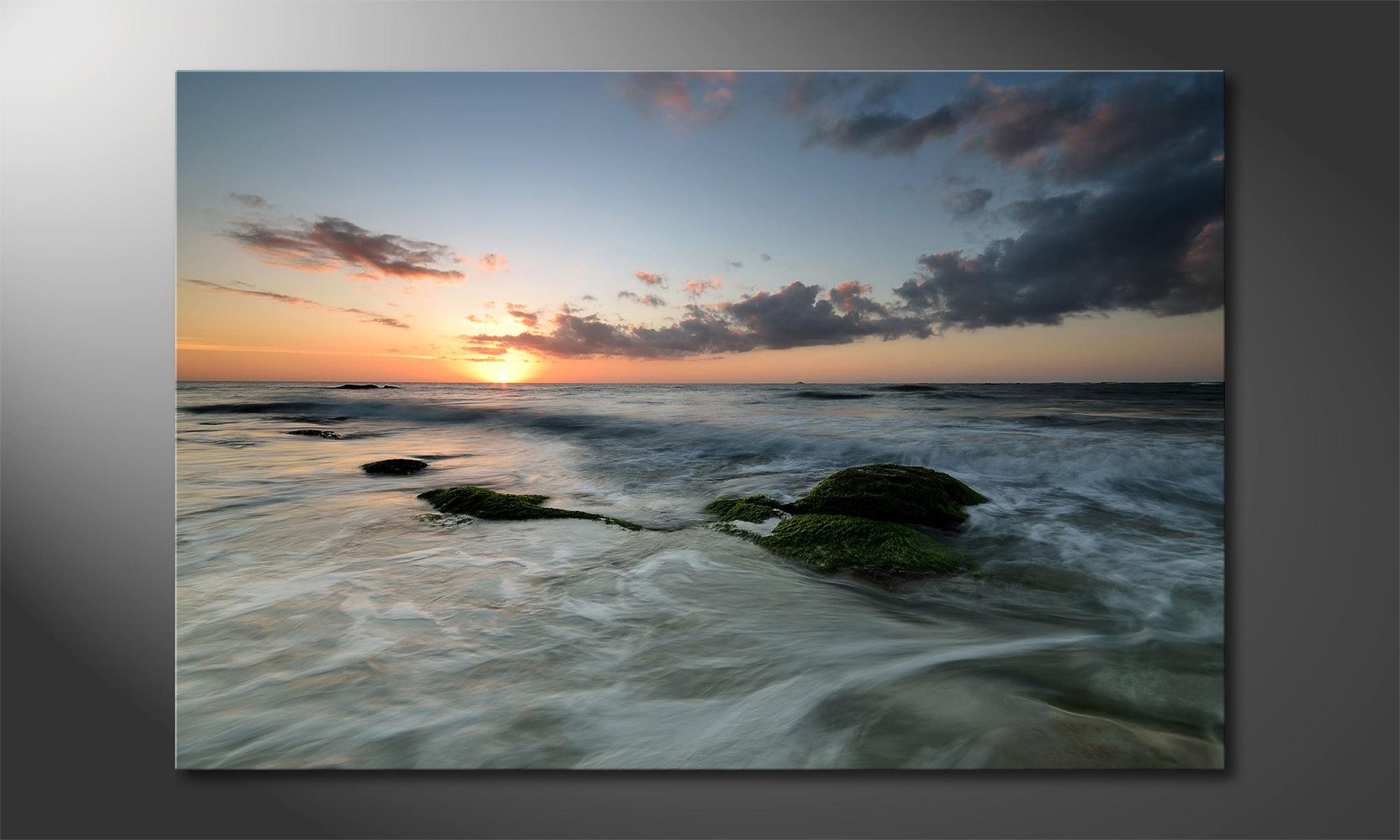 Das leinwandbild ocean sunset wandbilder xxl for Wandbilder xxl schlafzimmer