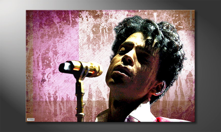 Das Leinwandbild Prince