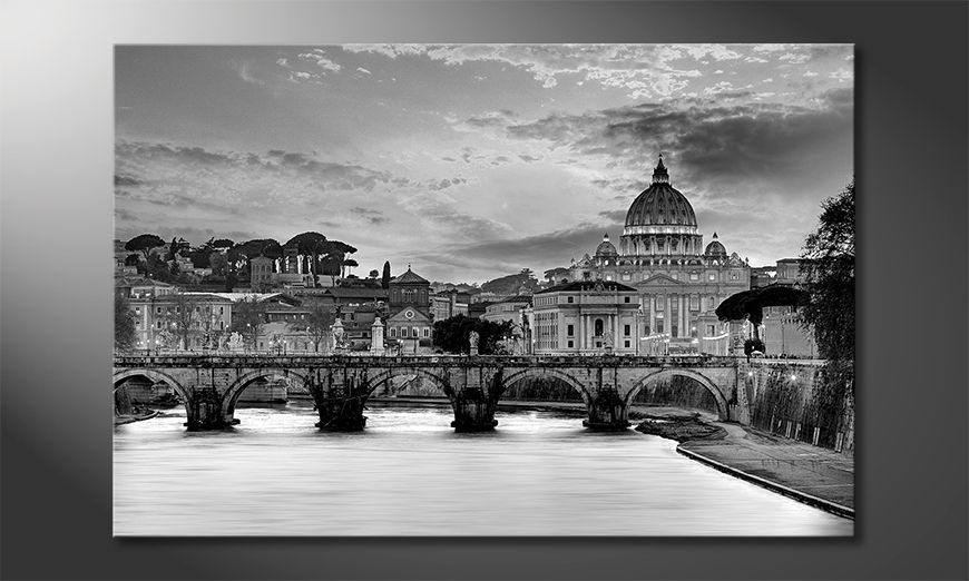 Das Leinwandbild Vatican