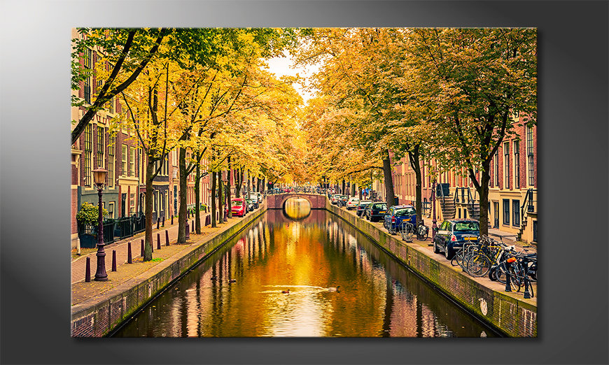 Das-Wandbild-Autumn-In-Amsterdam