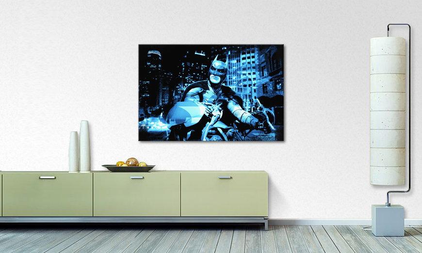 das wandbild batman the dark knight wandbilder xxl. Black Bedroom Furniture Sets. Home Design Ideas