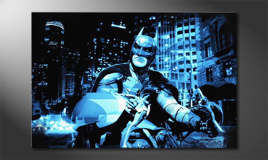 Das Wandbild Batman - The Dark Knight