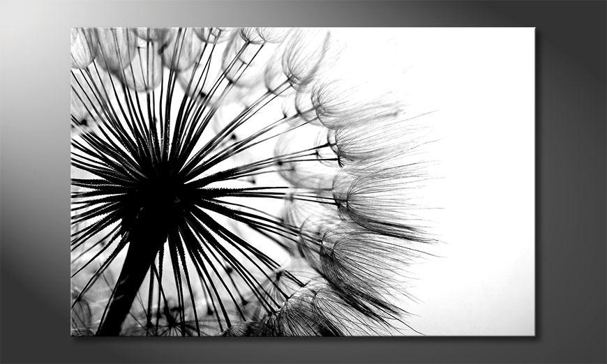 Das Wandbild Big Dandelion