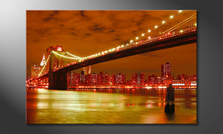 Das-Wandbild-Brooklyn-Bridge