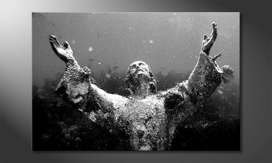 Das Wandbild Christ Of Abyss