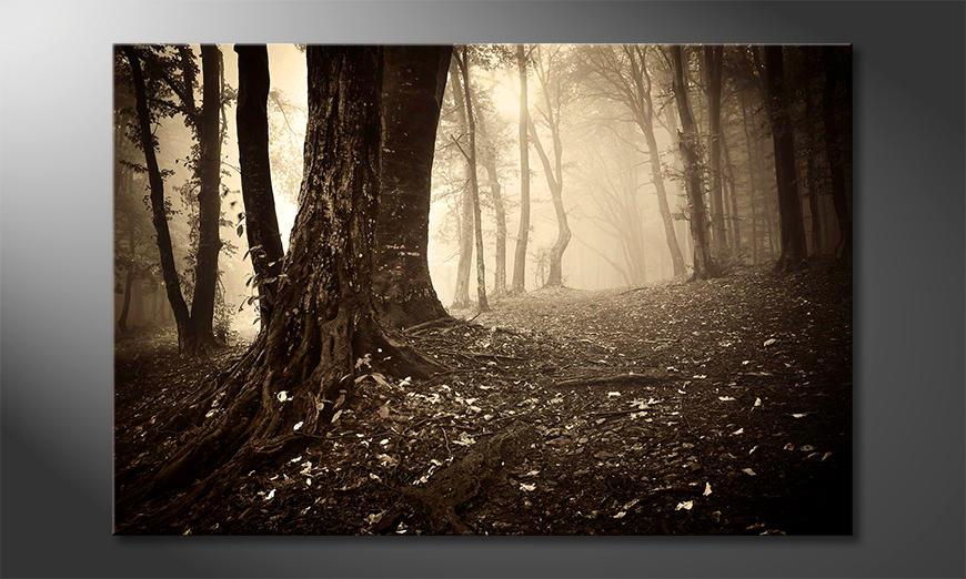 Das Wandbild Enchanted Forest