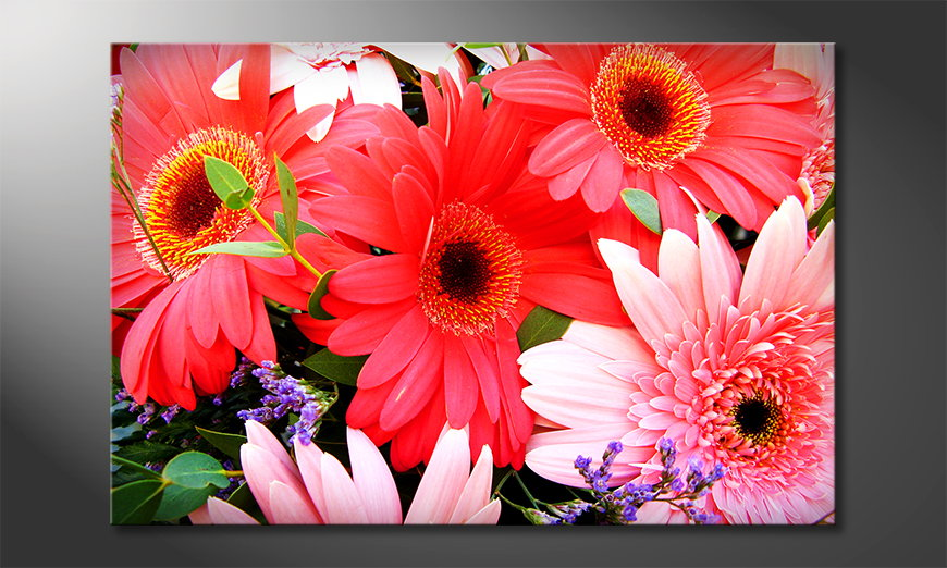 Das Wandbild Flowery Scent