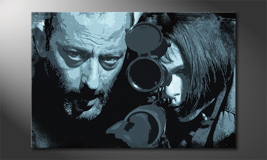 Das Wandbild Leon and Mathilda