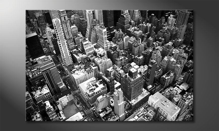 Das Wandbild NewYork City