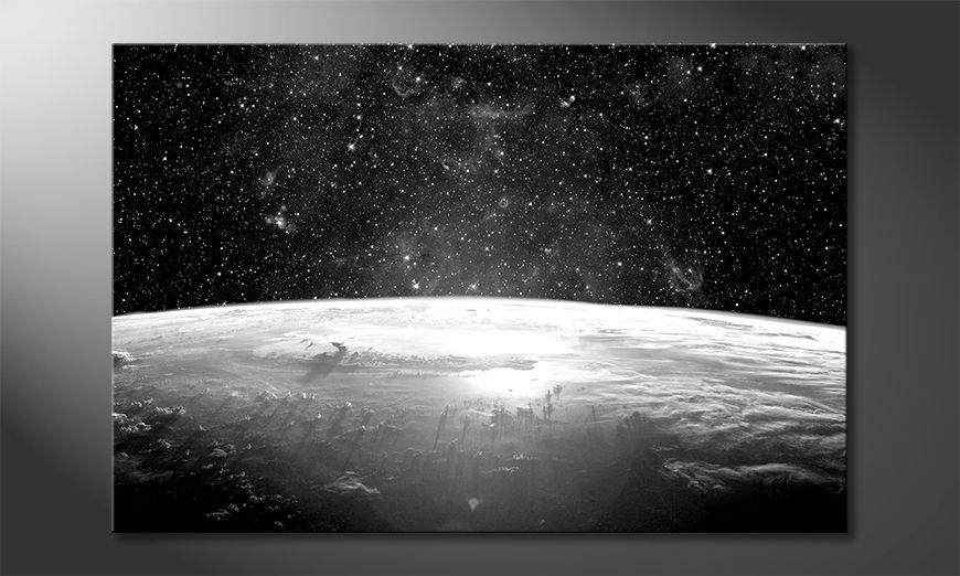 Das Wandbild Planet Earth